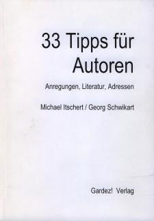 Cover: 33 Tipps für Autoren