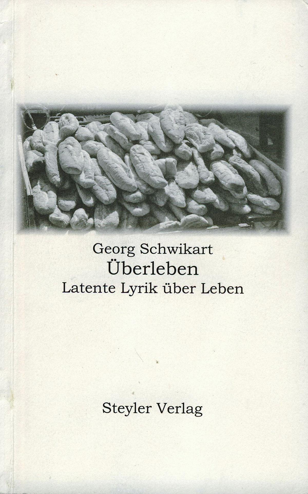 Cover: Überleben - latente Lyrik über Leben