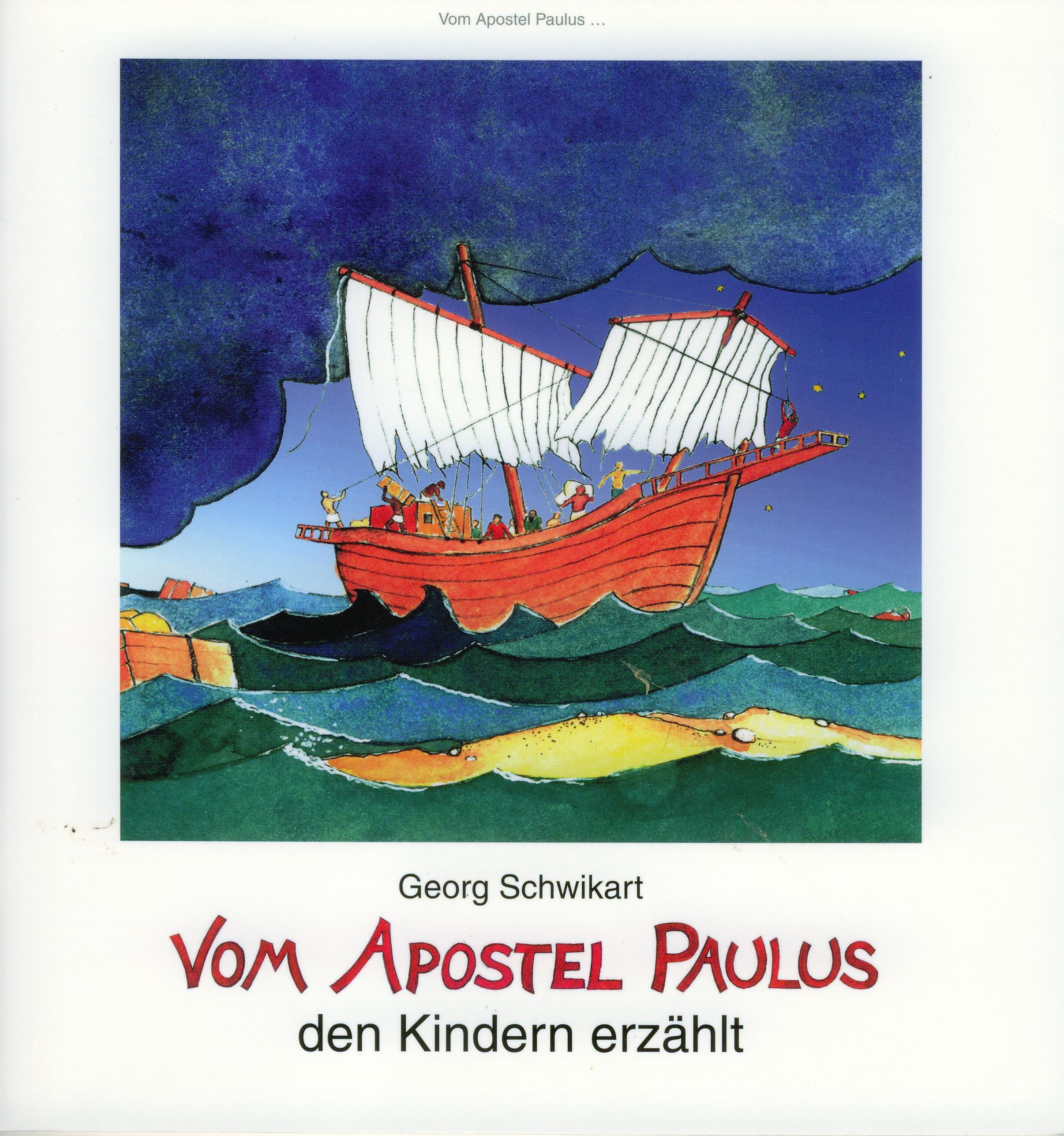 Cover: Vom Apostel Paulus den Kindern erzählt