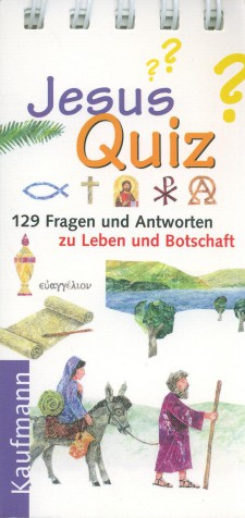 jesus quiz 129 fragen und antworten georg schwikart. Black Bedroom Furniture Sets. Home Design Ideas