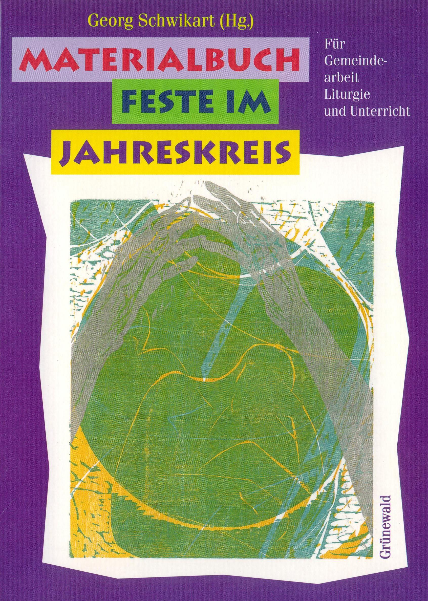 Cover: Materialbuch Feste im Jahreskreis