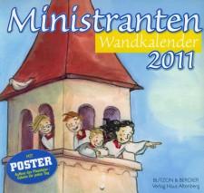 Cover: Ministranten-Wandkalender
