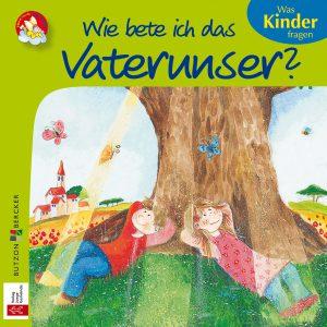 Farbenfrohe Zeichnung von zwei Kindern, die unter einem Baum liegen