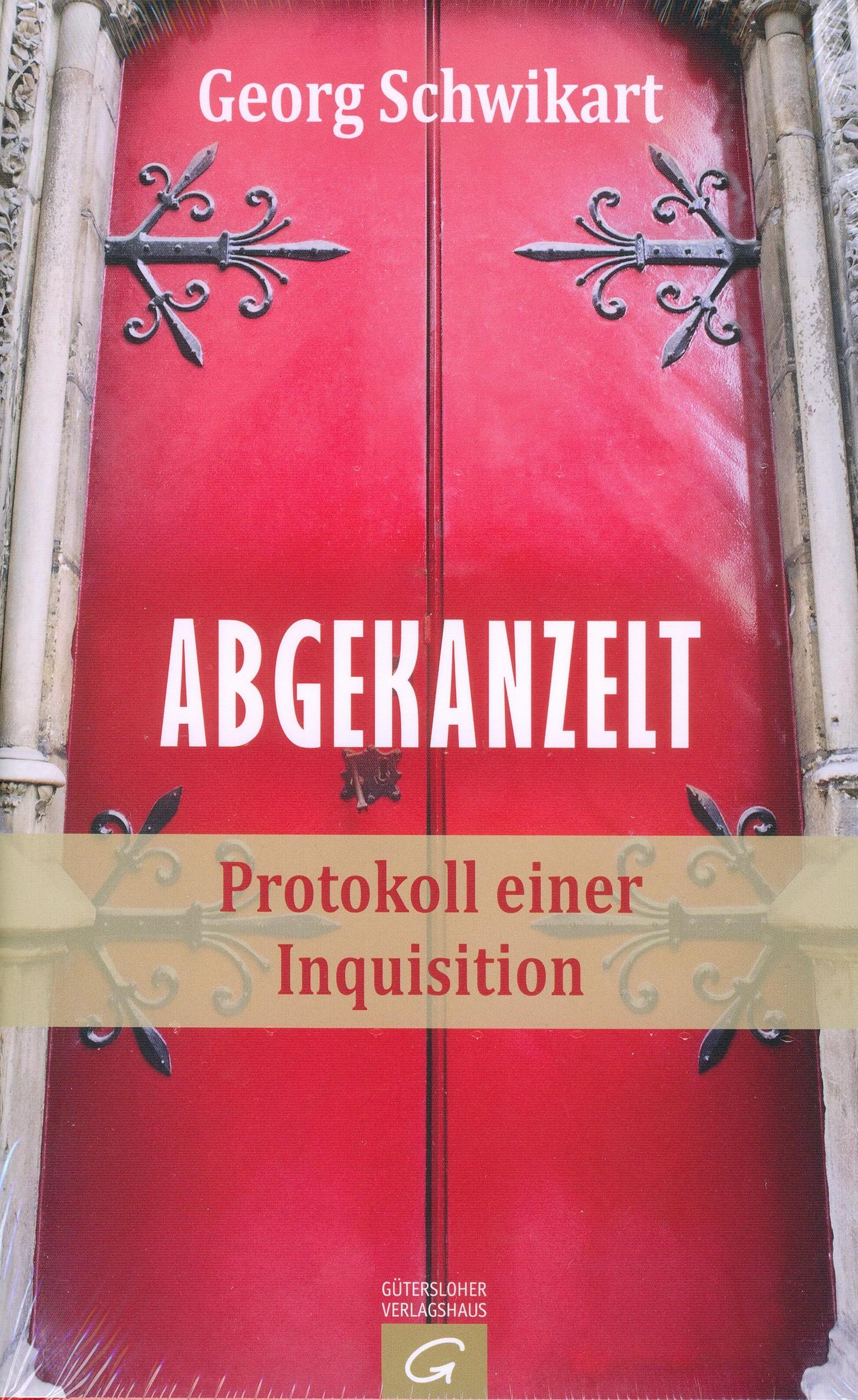 Cover: Abgekanzelt (Verschlossene, eisenbeschlagene Kirchentür)