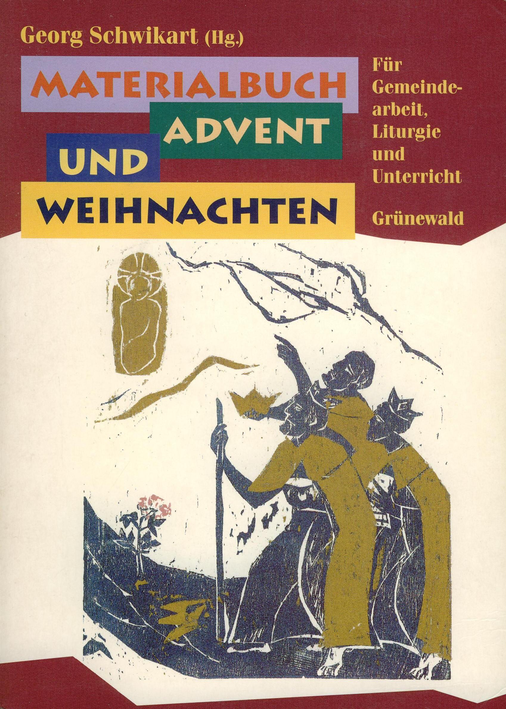 Cover: Materialbuch Advent und Weihnachten