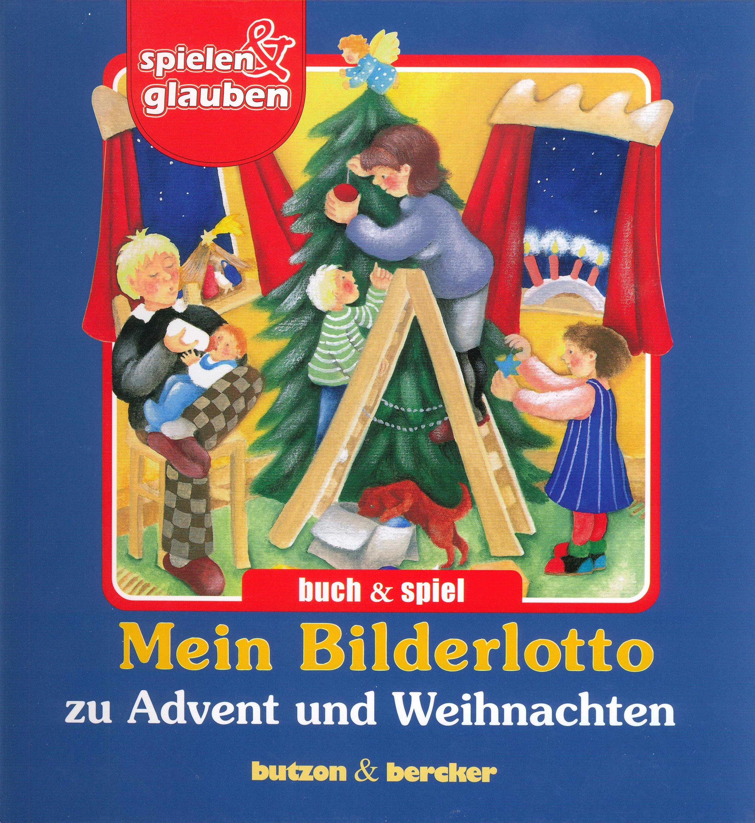 Cover: Von Advent und Weihnachten den Kindern erzählt (Bilderlotto)