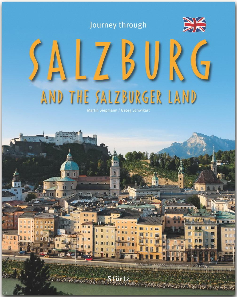 Cover: Mittelalterliche Gebäude vor Bergen und blauem Himmel