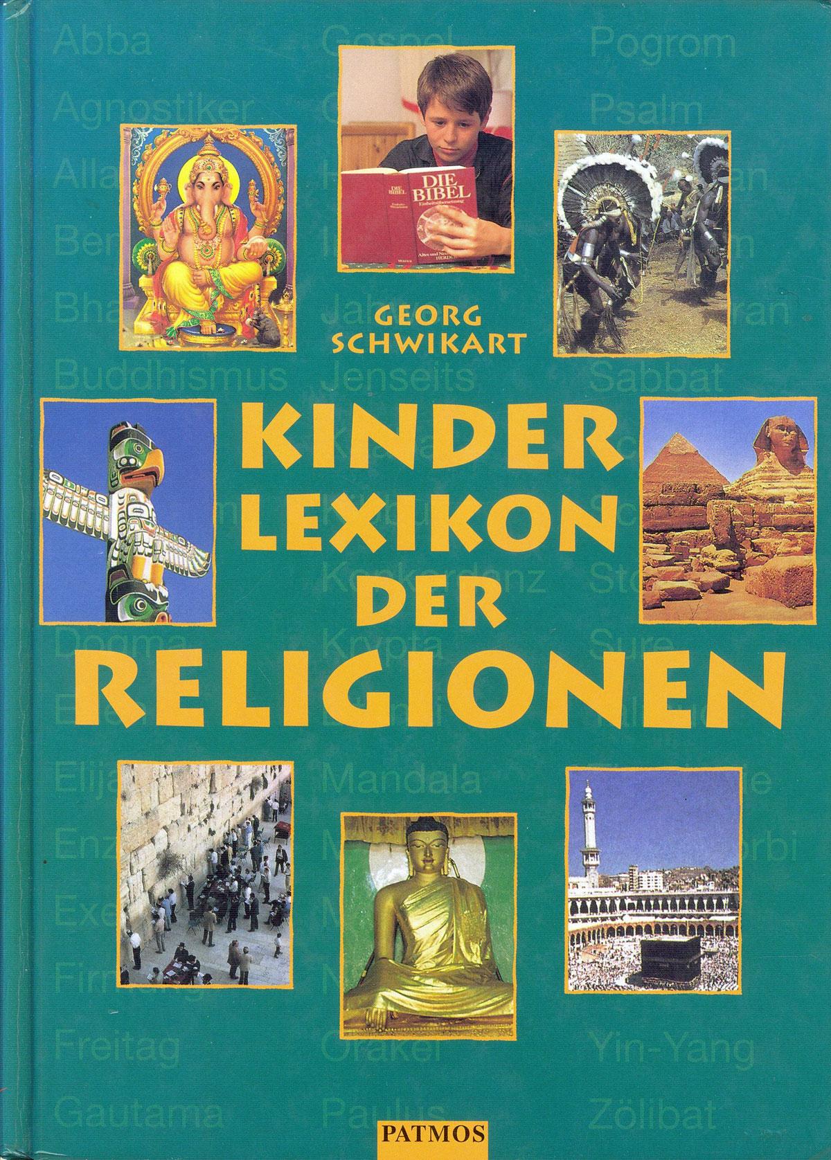 Cover: Kinderlexikon der Religionen