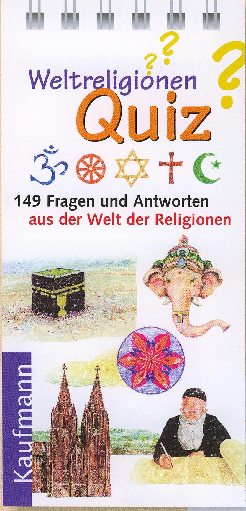 Cover: Weltreligionen Quiz