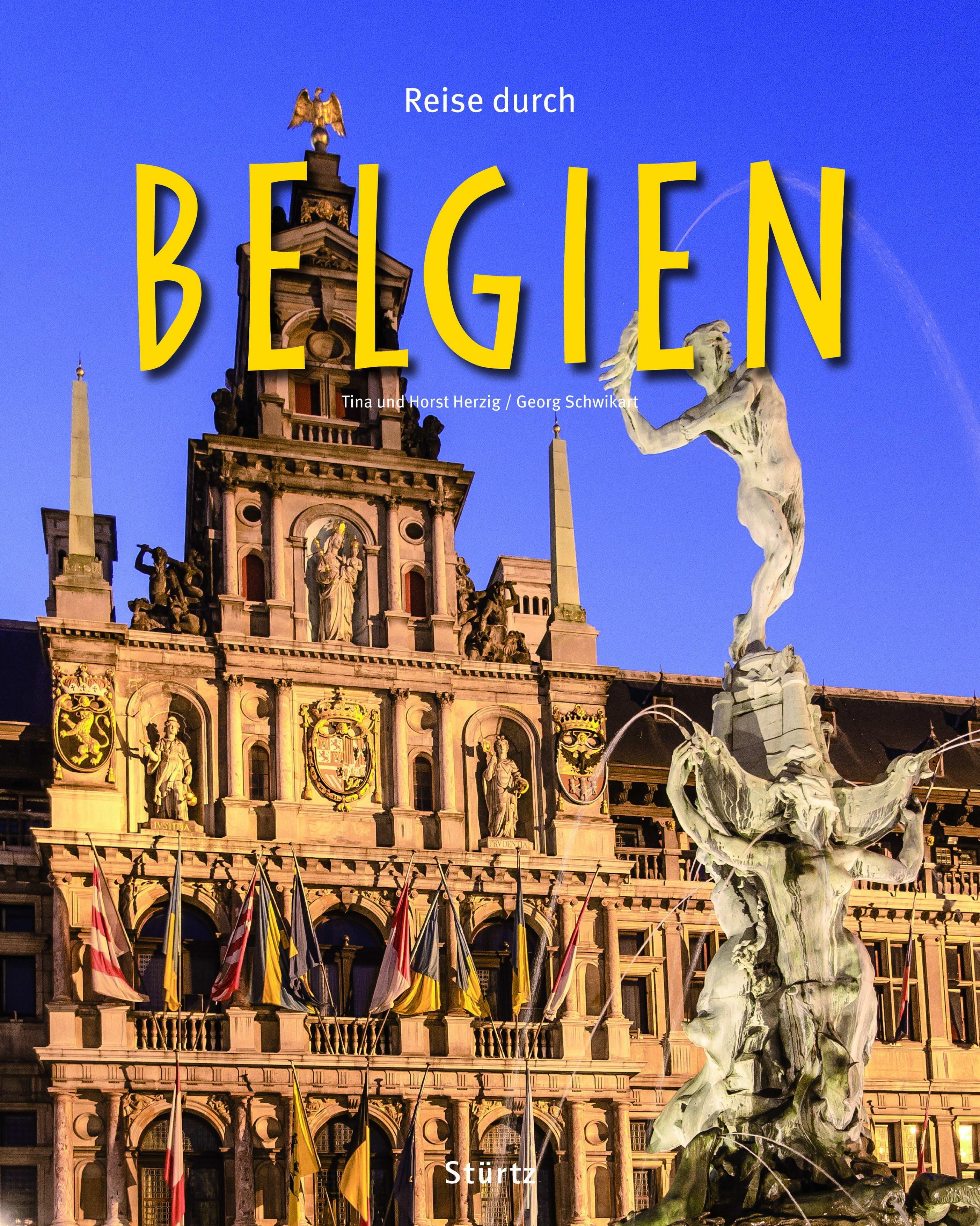 Cover: Reise durch Belgien