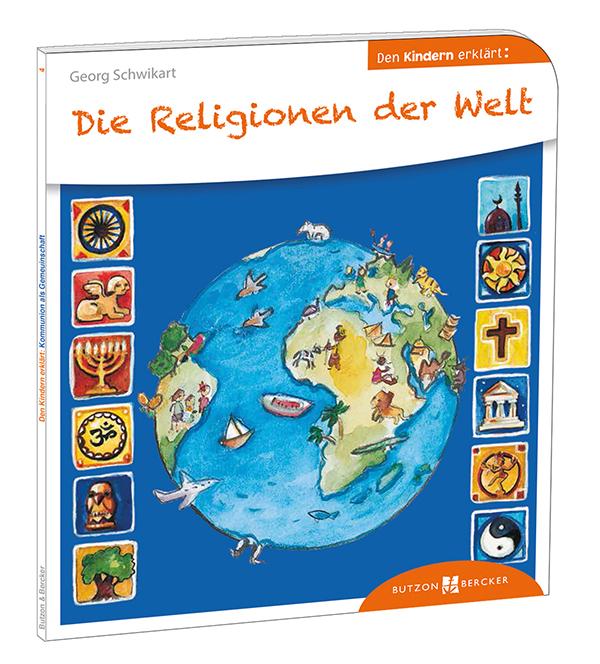 Cover: Die Religionen der Welt den Kindern erklärt