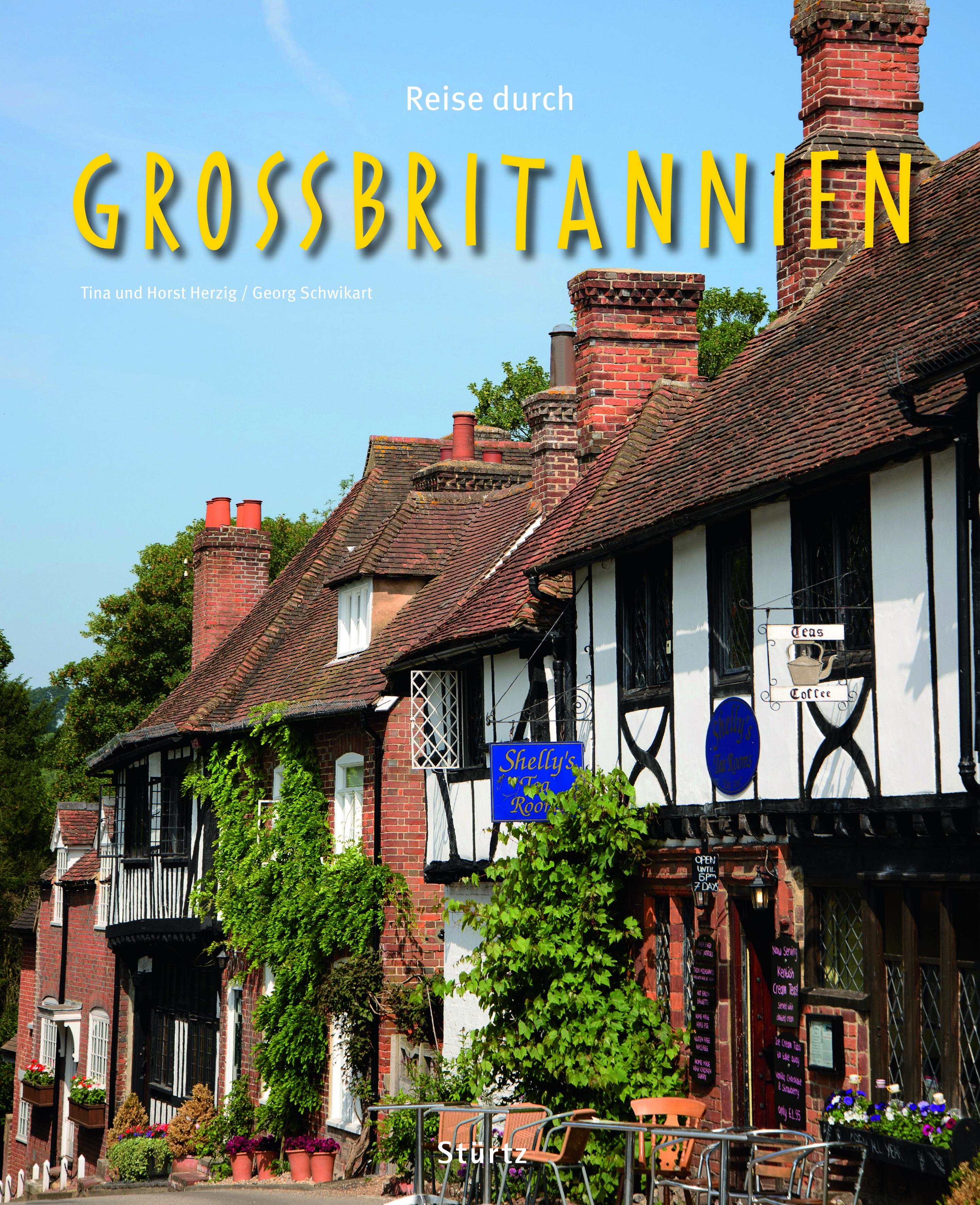 Cover: Reise durch Großbritannien