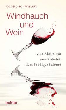 Buchcover: roter Wein wird aus einem Glas über einer Wasseroberfläche verschüttet
